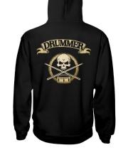 DRUMMER SKULL Hooded Sweatshirt thumbnail