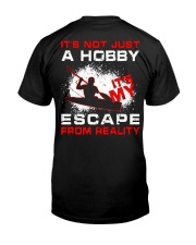 Escape From Reality Kayaking - Limited Edition Classic T-Shirt back