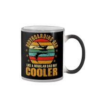 BODYBOARDING DAD LIKE A REGULAR DAD BUT COOLER Color Changing Mug thumbnail