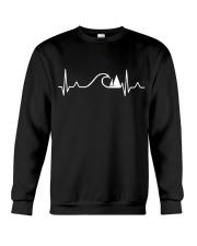 SAILING HEART BEAT AND WAVES Crewneck Sweatshirt thumbnail