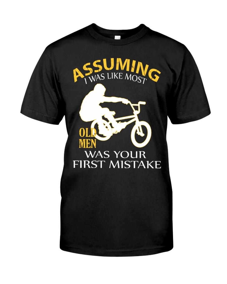 BMX BIKE OLD MEN Classic T-Shirt