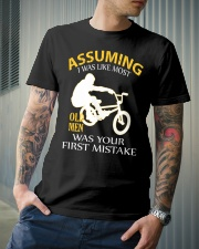 BMX BIKE OLD MEN Classic T-Shirt lifestyle-mens-crewneck-front-6