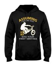 BMX BIKE OLD MEN Hooded Sweatshirt thumbnail