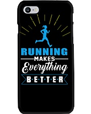 RUNNING MAKES EVERY THING BETTER Phone Case thumbnail
