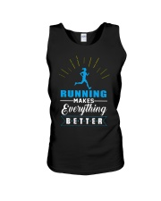 RUNNING MAKES EVERY THING BETTER Unisex Tank thumbnail