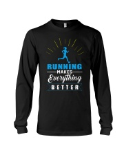 RUNNING MAKES EVERY THING BETTER Long Sleeve Tee thumbnail