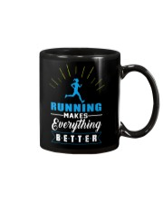 RUNNING MAKES EVERY THING BETTER Mug thumbnail