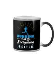 RUNNING MAKES EVERY THING BETTER Color Changing Mug thumbnail