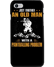 OLD MAN WITH A PAINTBALLING PROBLEM Phone Case thumbnail