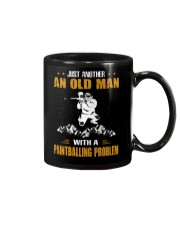 OLD MAN WITH A PAINTBALLING PROBLEM Mug thumbnail