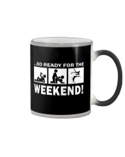 SO READY FOR THE WEEKEND - BODYBOARDING Color Changing Mug thumbnail