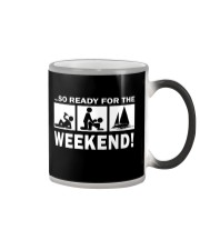 SO READY FOR THE WEEKEND - SAILING Color Changing Mug thumbnail