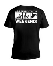 SO READY FOR THE WEEKEND - SNOWMOBILING V-Neck T-Shirt thumbnail