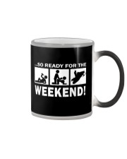SO READY FOR THE WEEKEND - SNOWMOBILING Color Changing Mug thumbnail