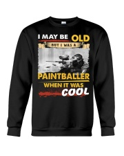 AWESOME PAINTBALLER Crewneck Sweatshirt thumbnail