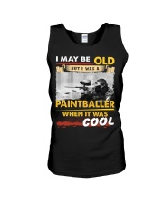 AWESOME PAINTBALLER Unisex Tank thumbnail