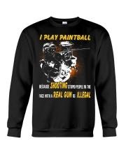 LIMITED EDITION - PLAY PAINTBALL Crewneck Sweatshirt thumbnail