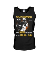 LIMITED EDITION - PLAY PAINTBALL Unisex Tank thumbnail