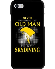 OLD MAN WHO LOVES SKYDIVING Phone Case thumbnail