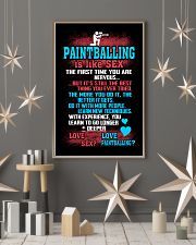 PAINTBALLING IS LIKE SEX 11x17 Poster lifestyle-holiday-poster-1