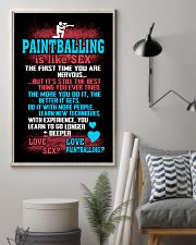 PAINTBALLING IS LIKE SEX 11x17 Poster lifestyle-poster-1