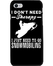 I JUST NEED TO GO SNOWMOBILING Phone Case thumbnail