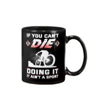 MOUNTAIN BIKING OR DIE Mug thumbnail