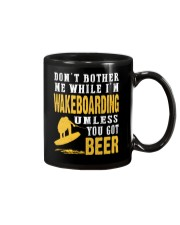 DON'T BOTHER ME WHILE I'M WAKEBOARDING Mug thumbnail