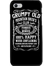 GRUMPY OLD MOUNTAIN BIKER'S CLUB Phone Case thumbnail