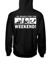 SO READY FOR THE WEEKEND - WATER SKIING Hooded Sweatshirt thumbnail