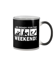 SO READY FOR THE WEEKEND - WATER SKIING Color Changing Mug thumbnail