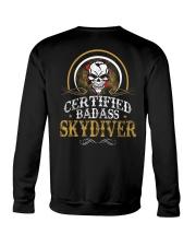 BADASS SKYDIVER Crewneck Sweatshirt thumbnail