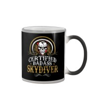 BADASS SKYDIVER Color Changing Mug thumbnail