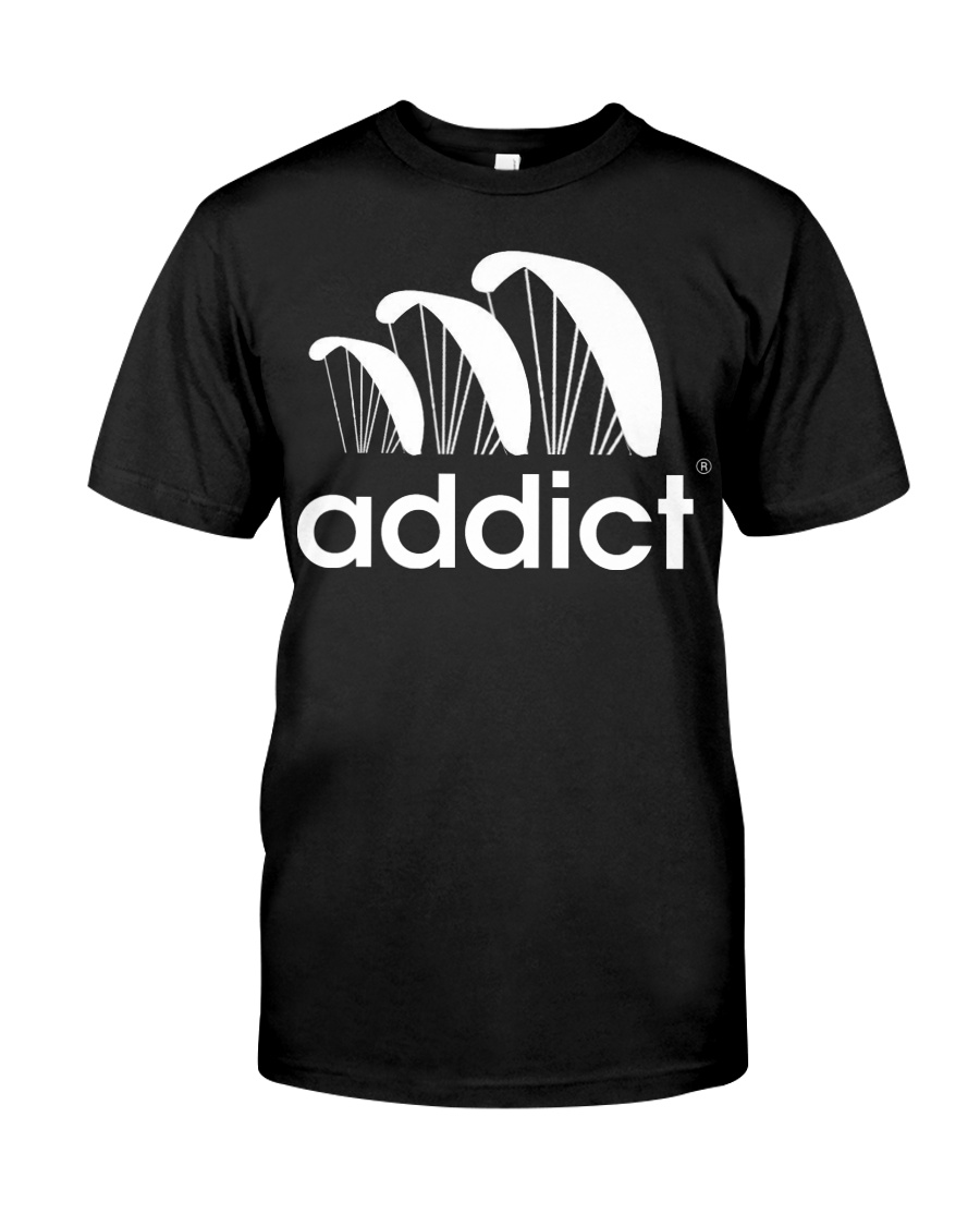 ADDICT PARAGLIDING Classic T-Shirt