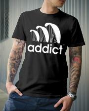 ADDICT PARAGLIDING Classic T-Shirt lifestyle-mens-crewneck-front-6