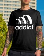 ADDICT PARAGLIDING Classic T-Shirt lifestyle-mens-crewneck-front-8