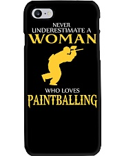 A WOMAN WHO LOVES PAINTBALLING Phone Case thumbnail