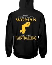 A WOMAN WHO LOVES PAINTBALLING Hooded Sweatshirt thumbnail