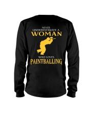 A WOMAN WHO LOVES PAINTBALLING Long Sleeve Tee thumbnail