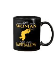 A WOMAN WHO LOVES PAINTBALLING Mug thumbnail