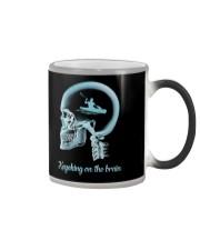KAYAKING ON THE B-R-A-I-N Color Changing Mug thumbnail