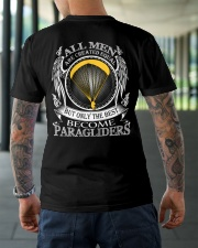 Only the best become Paragliders Classic T-Shirt lifestyle-mens-crewneck-back-3