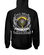 Only the best become Paragliders Hooded Sweatshirt thumbnail