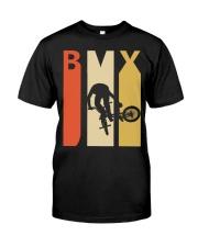 Retro 1970's Style Bmx Classic T-Shirt front
