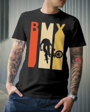 Retro 1970's Style Bmx Classic T-Shirt lifestyle-mens-crewneck-front-6