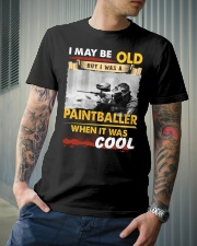 AWESOME PAINTBALLER Classic T-Shirt lifestyle-mens-crewneck-front-6