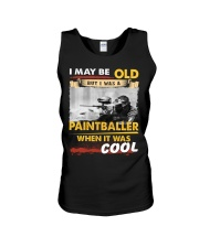 AWESOME PAINTBALLER Unisex Tank thumbnail