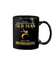NEVER UNDERESTIMATE OLD MAN WHO LOVES BODYBOARDING Mug thumbnail
