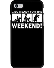 SO READY FOR THE WEEKEND - PAINTBALLING Phone Case thumbnail