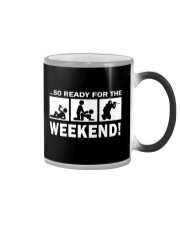 SO READY FOR THE WEEKEND - PAINTBALLING Color Changing Mug thumbnail